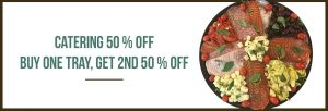 50% Off Catering Special