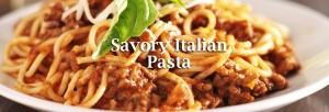 Savory Italian pasta