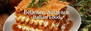 Delicious Authentic Italian food