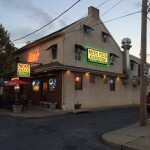 Exterior of Nick's Pizza Restaurant in Bethlehem PA